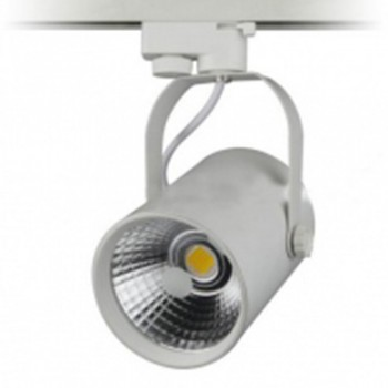 Đèn LED Rọi Ray 10W, Vỏ Trắng Ánh Sáng Trắng (Vàng)