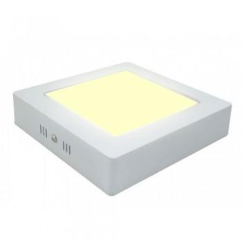 Đèn Led Ốp Nổi 24w loại vuông màu vàng