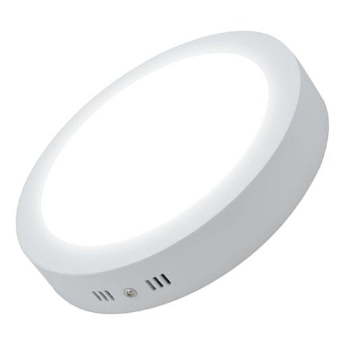 đèn led ốp nổi 24w loại tròn màu trắng