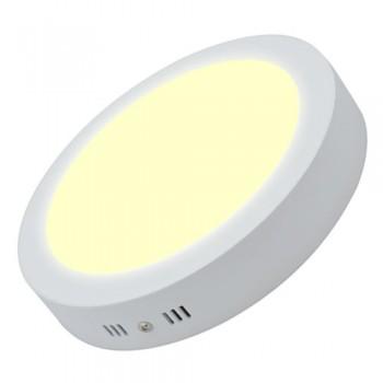 Đèn led ốp nổi 12w loại tròn màu vàng