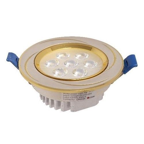 đèn led âm trần mắt ếch 7w vàng