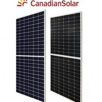 Tấm Năng Lượng Mặt Trời Canadian Halfcell Mono 390W